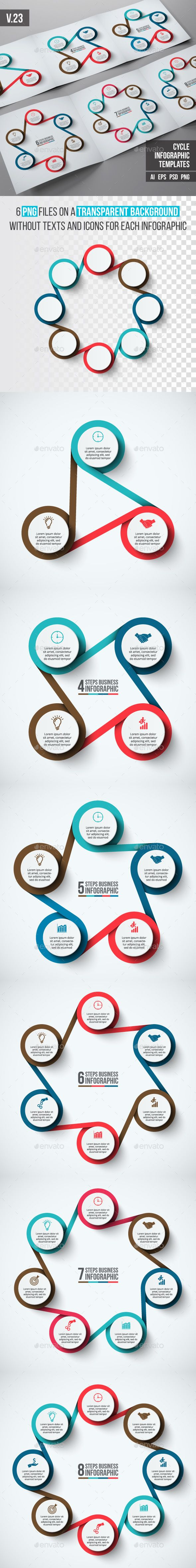 Advertising-Infographics-Infographics-template-set-v23-Infographics Advertising Infographics : Infographics template set v.23 - Infographics